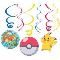 Pokemon Swirls Decorations
