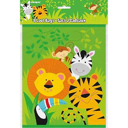 Animal Jungle Loot Bags