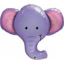 Super Shaped Elephant Foil Balloon