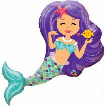 Super Shaped Enchanting Mermaid  Balloon