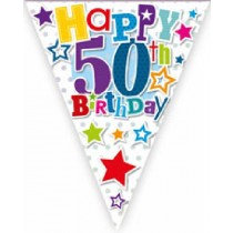 Happy 50th Birthday Bunting