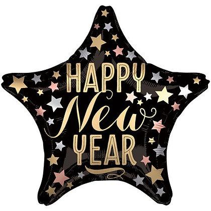 Star Shape New Year Std Foil