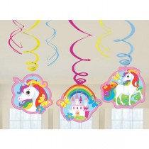 Unicorn Swirl Decoration