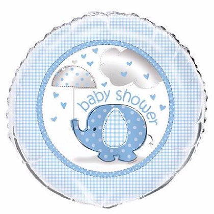 Blue Baby Shower Foil Balloon