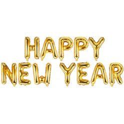 Happy New Year Balloon Banner Kit