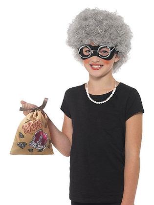 Gangsta Granny Kit Children's Costume