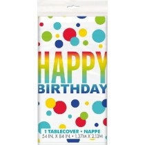 Rainbow Spots Tablecover