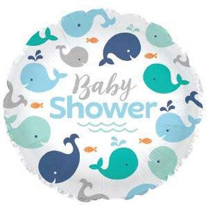 Blue Baby Shower Foil Balloon