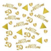 Golden Anniversary Confetti