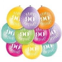 Air Fill Age 90 Balloons