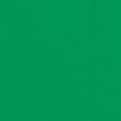 Emerald Green Luncheon Napkins