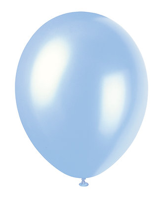 "Baby Blue 11"" Latex Balloons"