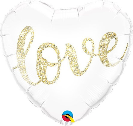 Love Heart Foil Balloon