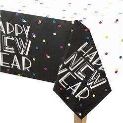 Neon Dots New Year Table Cover