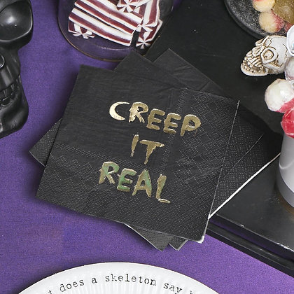 Creep It Real Cocktail Napkins