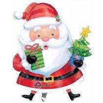 Santa with Tree Super Shape Balloon