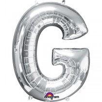 Super Shape Silver Letter G