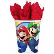 Mario Paper Cups