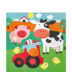 Farm Fun Napkin