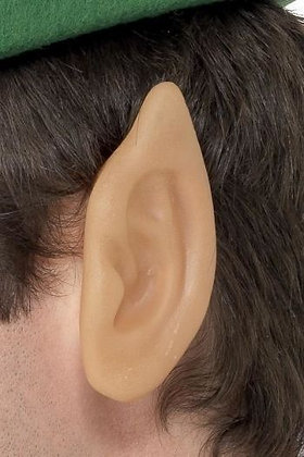 Soft Vinyl Pointed Elf Ears