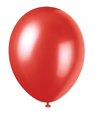 "Red 11"" Latex Balloons"