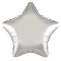 Silver Foil Star Balloon