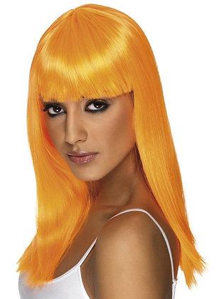 Orange Glamourama Wig