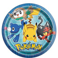 Pokemon Plates