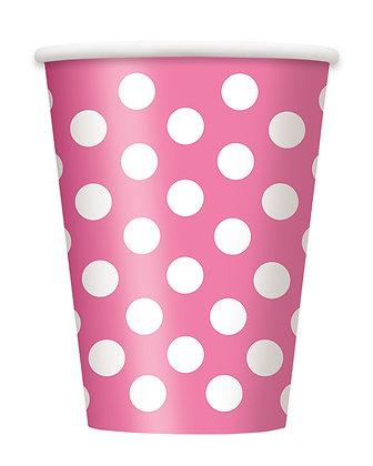 Magenta Dotty Cups