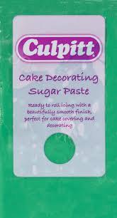 Sugar Paste Green