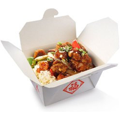 Chinese food boxes sold singularly