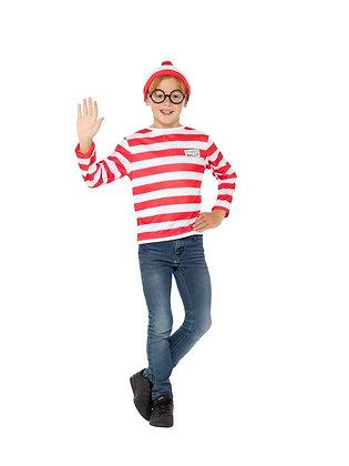 Where's Wally Kit Children's Costume Large