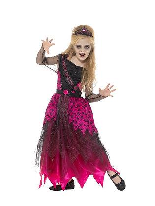 Deluxe Gothic Prom Queen  - Girls