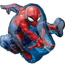 Super Shaped Spiderman Balloon