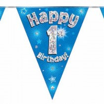 Blue Age 1 Bunting