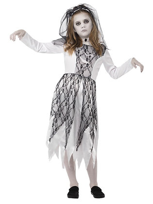 Ghostly Bride Costume - Girls