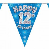 Blue Age 12 Bunting