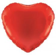 Plain Std Foil Hearts Balloons
