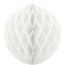 40cm White Honeycomb Ball