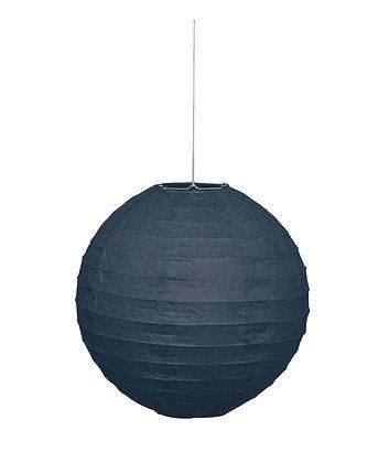 "Black 10"" Paper Lantern"