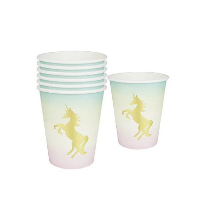 We Heart Unicorn Cups