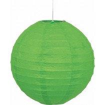 Lime Decorative Paper Lantern