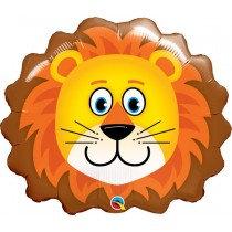 Super Shaped Lion Foil Balloon