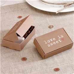 Love Is Sweet Cake Boxes