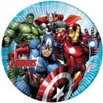 Avengers Paper Plates
