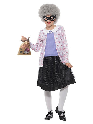 Gangsta Granny Children's Costume