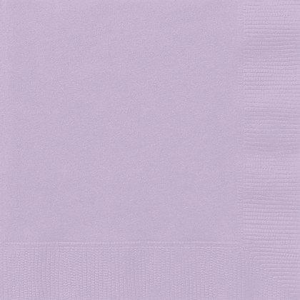 Lavender Luncheon Napkins