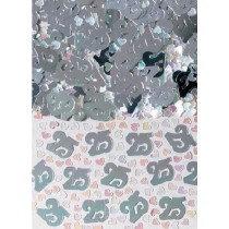 Silver 25 Confetti