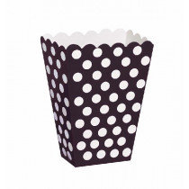 Black Dotty Treat Boxes