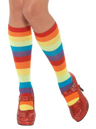 Rainbow Clown Socks